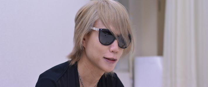 大人気ロックバンド//DIR EN GREY Shinyaインタビュー